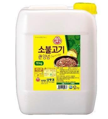 韓國不倒翁-韓式醃烤醬(原味)10kg