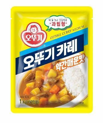 韓國不倒翁-咖哩粉(中辣)