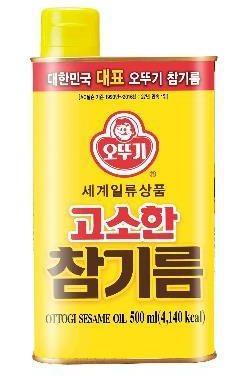 韓國不倒翁-芝麻油500ml