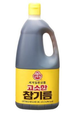 韓國不倒翁-芝麻油1.8L