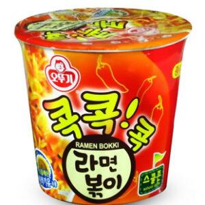 韓國不倒翁-辣炒年糕風味乾拌杯麵(辣)