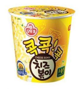 韓國不倒翁-起司風味乾拌杯麵