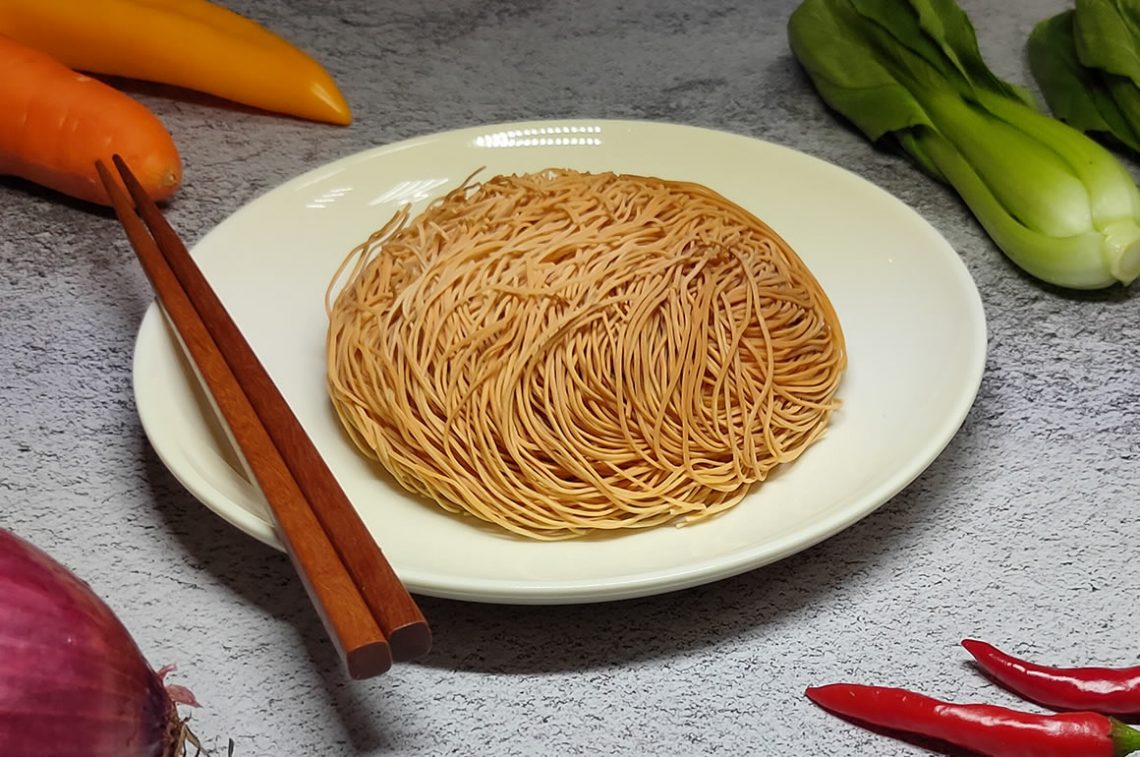 手拉雞絲麵