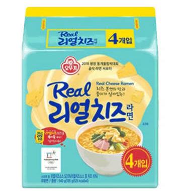 韓國不倒翁-超濃厚起司拉麵
