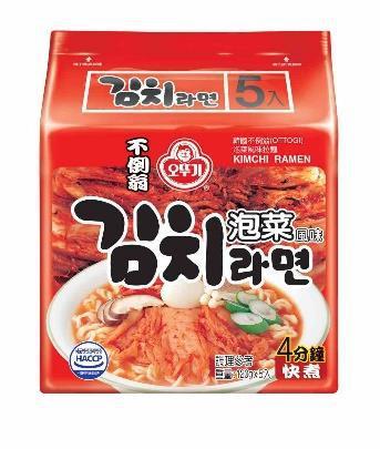 韓國不倒翁-泡菜風味拉麵(辣)