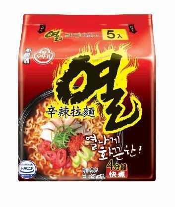 韓國不倒翁-辛辣拉麵(辛辣)