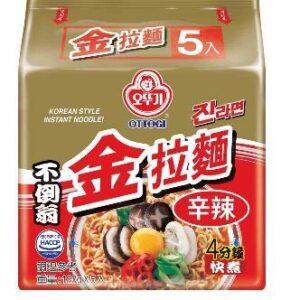 韓國不倒翁-金拉麵(辛辣)
