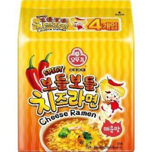 韓國不倒翁-辣起司風味拉麵(辛辣)
