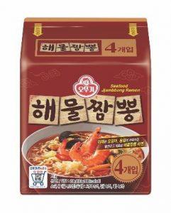 韓國不倒翁-香辣海鮮風味拉麵(辛辣)