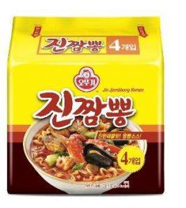韓國不倒翁-金螃蟹海鮮風味拉麵(辛辣)