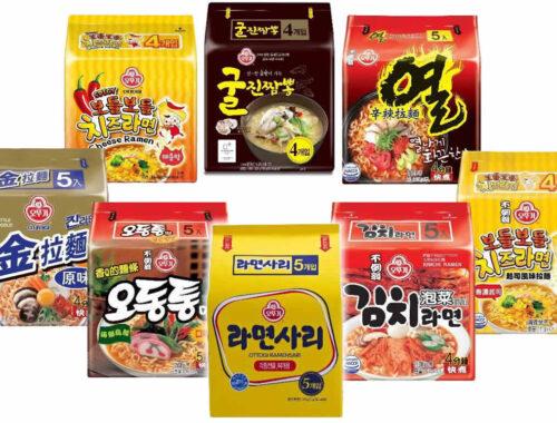 韓國不倒翁-袋裝Q拉麵