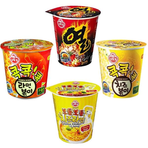 韓國不倒翁-自選杯麵組合
