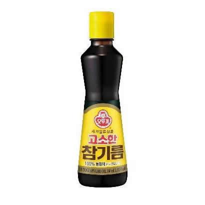 韓國不倒翁-芝麻油160ml